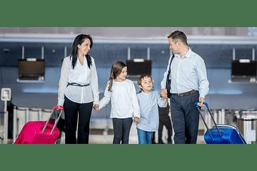 ¿Puedo viajar a estudiar con mi familia?