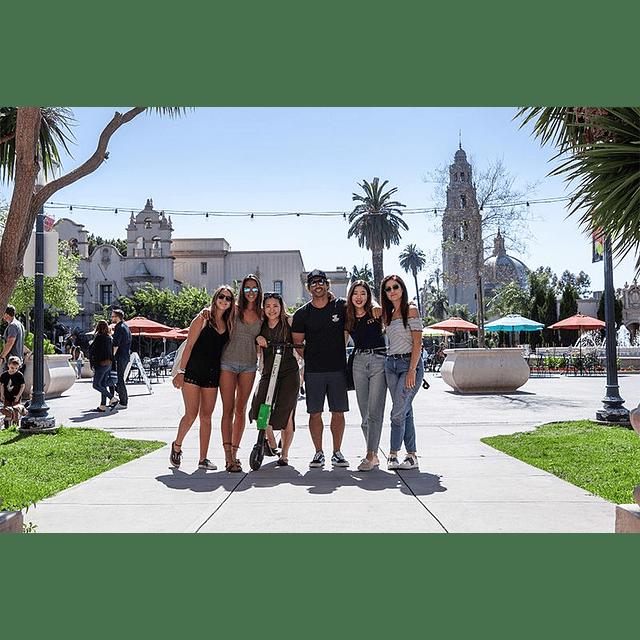 8 semanas inglés en San Diego SIN HOSPEDAJE $2.035.200  RESERVA POR