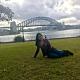 Vania Lara Santiago desde Puerto Varas Chile a Sídney, Australia)