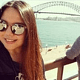 Javiera Paredes desde Santiago, Chile a Melbourne, Australia)