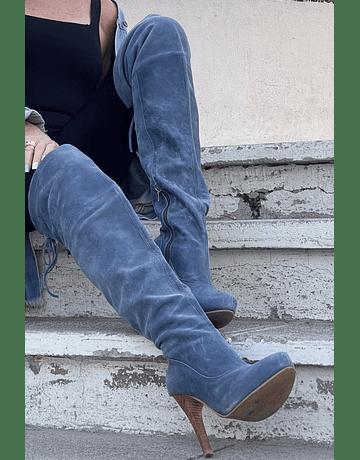 Bucaneras xl azul jeans