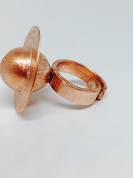 Copper Saturn Ring