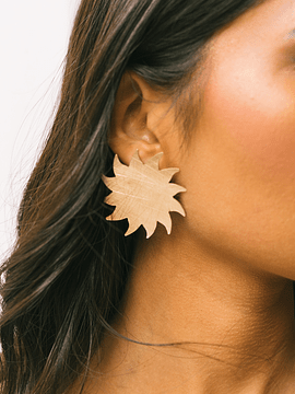 Aros Sol bronce