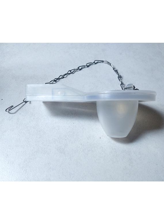 Flapper para Estanque WC con Cadena Metálica