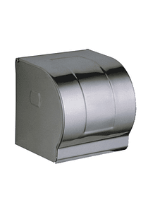 Porta Papel Higiénico WC Metalico Redondo