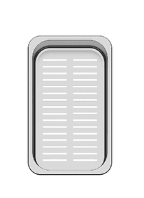 Canasto Bandeja Perforada Organizadora para Lavaplatos Ancho 43x27x8