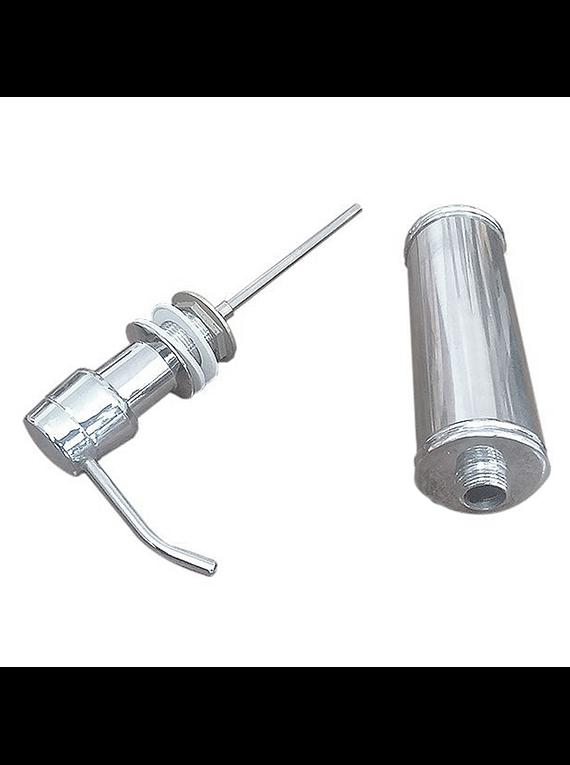 Pack Lavaplatos Simple Empotrable Ancho 686x456x21 cm Hamburg + Rejilla + Dispensador