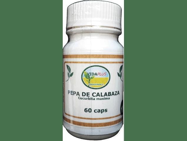 PEPA DE CALABAZA 3 FRASCOS DE  60 CAPS DE 485 MG