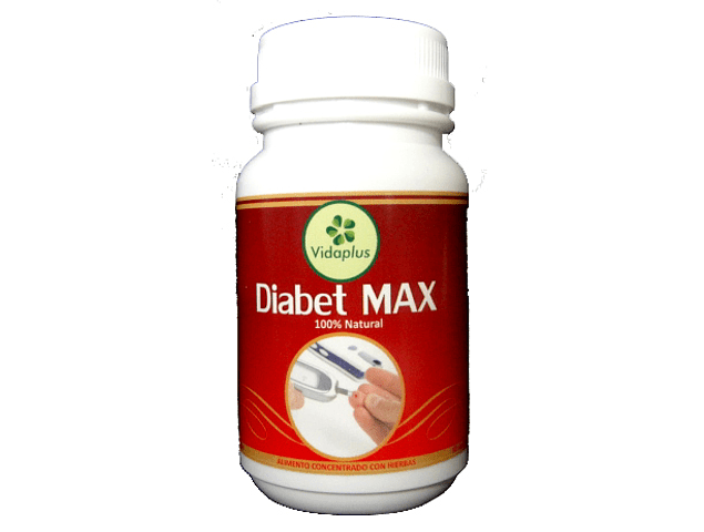 DIABET MAX 3 FRASCOS DE 60 CAPSULAS DE 490 mg ( MORERA + NOPAL)