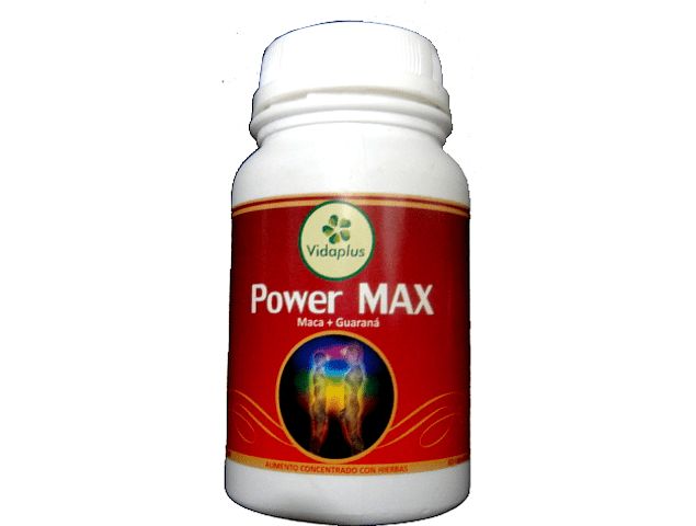 POWER MAX 3 FRASCOS DE 60 CAPSULAS DE 5400 mg