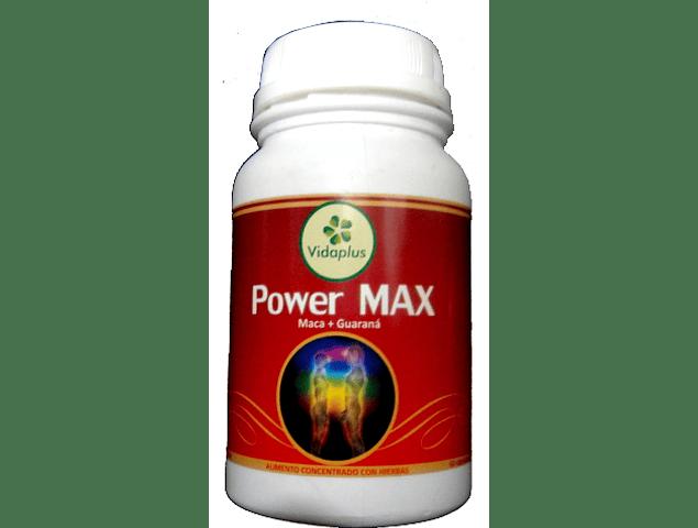 POWER MAX 4 FRASCOS DE 60 CAPSULAS DE 5400 mg DESPACHO GRATIS