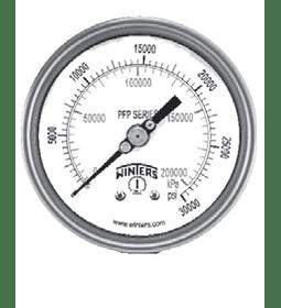 MANOMETRO WINTERS FULL INOXIDABLE 63mm SERIE LF ATRAS 1/4NPT