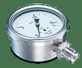 VACUOMETRO BAUMER BOURDON MODE MCX5F60N56 -25-0 KPA 0-250 MBAR 1/2NPT POSTERIOR