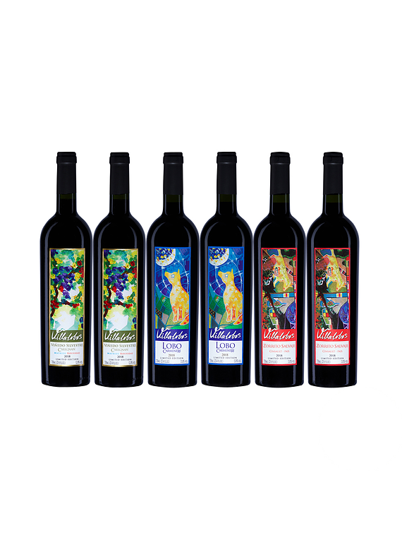 Pack 6 Botellas Coleccion (2 Silvestre, 2 Lobo, 2 Zorrito)