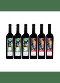 Pack 6 Botellas (3 Silvestre, 3 Zorrito)