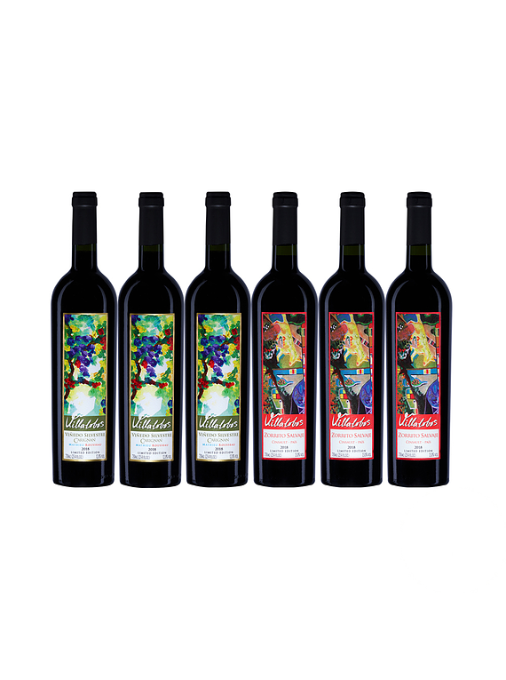 Pack 6 Botellas (3 Bot. Silvestre, 3 Bot. Zorrito)