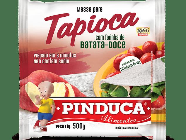 Tapioca Hidratada com Farinha de Batata Doce (Massa Pronta para Tapioca) 500g