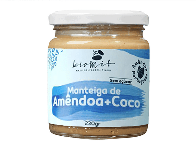 Manteiga de Amêndoa + Coco BIO 230g
