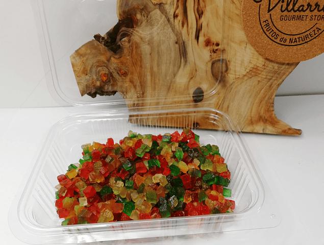 Fruta Sortida Picada Cristalizada
