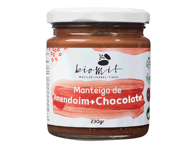 Manteiga de Amendoim + Chocolate BIO 230g