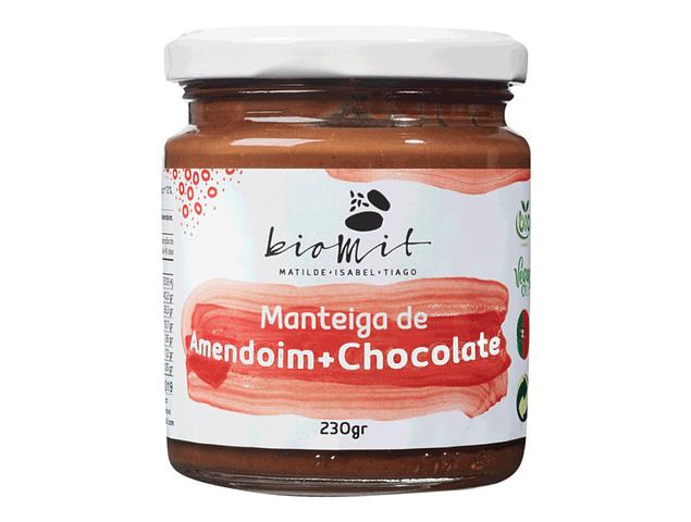 Manteiga de Amendoim + Chocolate BIO 230g