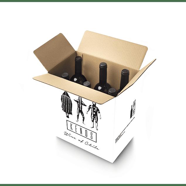 Syrah - Reserva Caja de 6 botellas