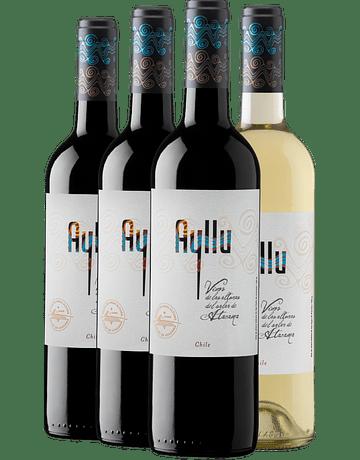 Pack Festival del Vino de Altura 2021 (Caja Mix 4 Unidades Cosecha 2019)