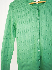 Cardigan light green