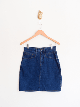 Falda 90s denim