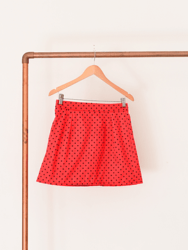 Mini roja polka dots TPZ