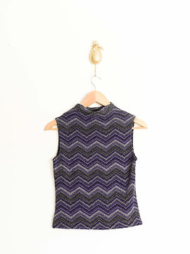 Top chevron shiny