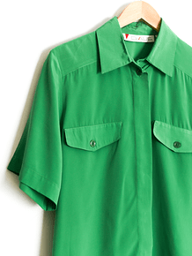 Camisa power green