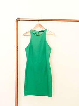 Vestido halter power green