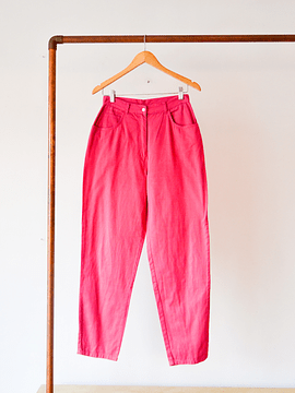 Mom jeans power pink