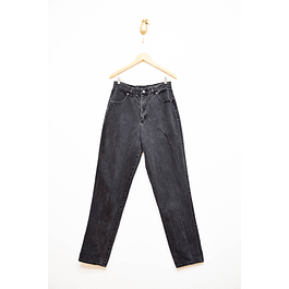 Mom jeans gris