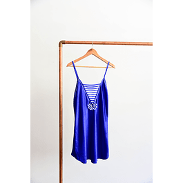Sailor slip dress