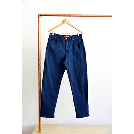 Mom jeans azules