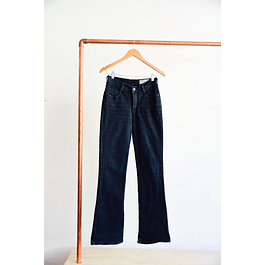 Jeans flare negros