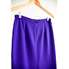 Falda grape midi