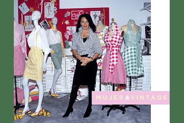 Mujer & Vintage: Diane Von Fürstenberg, wrap dress y feminismo.