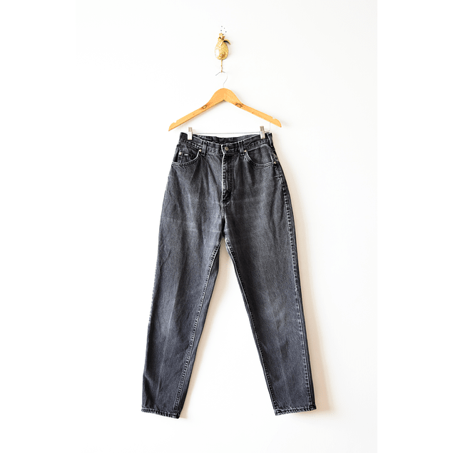 Mom jeans lee negros