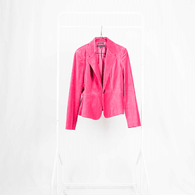 Blazer Pinky Velvet