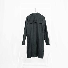 Abrigo Soft Black Cotton