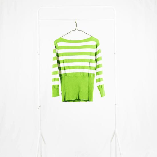 Sweater Green Stripes