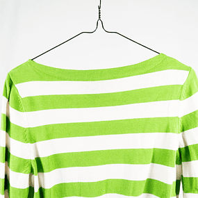 Sweater Green Stripes