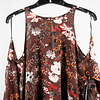 Blusa Shoulders Off Flores