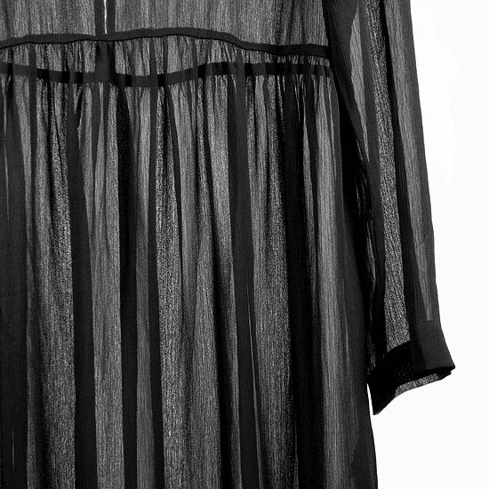 Vestido Black Transparencia