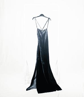 Long dress Velvet 90s