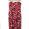 Vestido Strapless Rosas