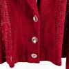 Blazer Trenzado Rojo Italiano